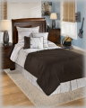 Stickly-Multi Collection 5-Piece Twin Bedding Set