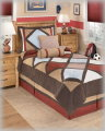 Academy-Multi Collection 5-Piece Twin Bedding Set