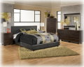 FREE Queen 4PC Comforter Set W/This Complete Metro Modern 6PC Bedroom Set Plus A Pair Of Table Lamps