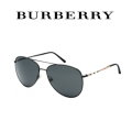 Burberry Aviator Sunglasses-Available In Black