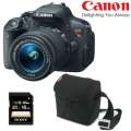 Canon EOS Rebel T5i Digital SLR Camera 18-55mm IS STM Lens With 16GB Memory Card & Camera Case