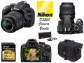Best Value Nikon D3200 DSLR Camera, 18-55mm Lens Bundle W/ 16GB SD Memory Card, Bag,& 3PC Filter Kit