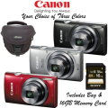 Canon PowerShot ELPH160 20.0MP Digital Camera Includes 16GB Memory Card & Case-Available In 3 Colors