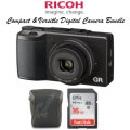 Ricoh GR-II Compact Digital Camera Bundle Featuring Lowepro Pouch, SanDisk  Memory Card, & More