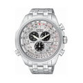 Citizen Eco-Drive Perpetual Calendar Men's Watch With Silver Dial