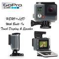 GoPro HERO+ LCD Camera Featuring Full HD 1080p Video - Available In Grey