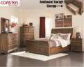 Country RusticDesign Highlight This 5PC Pkg Featuring Charging Station In Nightstand & ExTall Chest