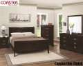HOTBUY;Add A Casual Yet Elegant Look To Your Bdrm W/This 6PC Louis Philippe Pkg In Cappuccino Finish