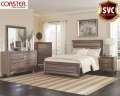 From Our Super Value Collection; Featuring A Greyish Brown Tone 6PC Package W/A Washed Taupe Finish