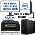 Dell Inspiron 22� Intel Pentium 3.3GHz Desktop Computer W/LED Monitor & Inkjet Multifunction Printer