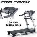 ProForm Crosswalk Treadmill With 16 Built-In Programs And Dual Grip EKG Monitor