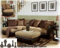 FREE Round Swivel Chair With 8-Piece Living Room Package