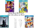 Holiday Blowout Wii U Game Bundle W/4 Games, Remote & Nunchuck - MAJOR PRICE REDUCTION - Only 1 Left