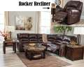 Great Value W/This 2PC Reclining Chocolate Sectl Featuring A Contemporary Design W/Nail Head Accents
