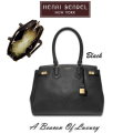 Henri Bendel Carlyle Caviar Tote-Available In Black