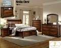 Classic Addition To Your Master Suite W/Storage Bed, Hidden Drawers In Nightstand & Brown Finish