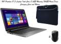 "HP Pavilion 17.3"" Laptop, Intel Core i7, 6GB Mem, 750GB HD Silver w/Carrying Case & Mouse"
