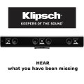 "Klipsch Gallery Soundbar W/Dynamic 1"" Tweeters On Left, Right & Center Channels"