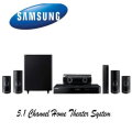 Samsung 5.1 Channel Home Theater System Featuring 3D Smart Blu-ray - Available In Black