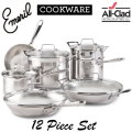 Emerilware by All Clad Chef's 12-Piece Cookware Set �Available in Stainless Steel