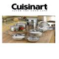Cuisinart 14PC Classic Stainless Cookware Set Featuring Tight Fitting Lids, Pasta & Universal Insert