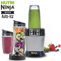 Ninja Nutri Auto-iQ Blender - Available In Silver With Black Finish