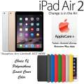 NEW Apple 64GB iPad Air 2 W/Retina Display, WiFi & Cellular Plus Choice Of Cover Color & AppleCare+