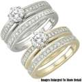 Fine Jewelry-Women's 14K Diamond Bridal Ring Set In White Gold Or Yellow Gold