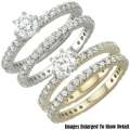 Fine Jewelry - Women's 14K Diamond  Bridal Ring Set In White Gold Or Yellow Gold