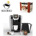 Keurig 2.0 Brewing System Package Featuring 4 K-Carafe Packs & 48 Count Variety K-Cups