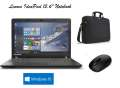 Lenovo IdeaPad 15.6 Notebook iwith Windows 10 Intel Pentium, Carrying Case & FREE Mouse