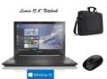 """Lenovo 15.6"""" Notebook w/Windows 10, Intel Core i5 Dual Core 2.20 GHz Carrying Case & FREE Mouse"""