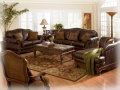 100% Leather Living Room Furniture