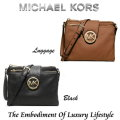 Michael Kors Large Fulton Crossbody Bag-Available In Luggage Or Black