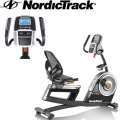 NordicTrack Elite Recumbent Cycle With 25 Digital Resistance Levels & 32 Workout Apps
