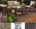 Fair Oaks 4PC Seating Set Featuring Luxurious Comfort & Trendsetting Design