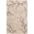 Surya Athena-Feather Gray Transitional 5x8 Plush Pile Area Rug