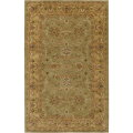 Surya Crowne-Olive Traditional 5x8 Plush Pile Area Rug