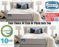 Simmons BeautySleep� Adeline Pl� Firm Or Plush Euro Top Queen Mattress Set; All The Right Components