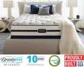 Simmons Beautyrest Recharge� Baton Rouge� Plush Twin Mattress Set; Combining Support & Temperature