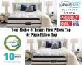 Simmons Beautyrest RechargeUltra� BayCity� LuxFrmPTop Or PlshPTop Fl MattSt; LivingLife FullyCharged