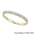 Fine Jewelry - Women's 14K Round Diamond Wedding Band In Yellow Gold