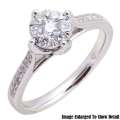Fine Jewelry - Women's 14K Round Diamond Engagement Ring In White Gold