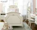 Gabriella Collection Offering Luxury For Your Princess Featuring Beaded Lace Accents On Panel Bed