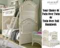 Dependable, Safe & Long Lasting Define The Gabriella Collection; Choice Of Tw/Tw Or Tw/Fl Bunkbeds