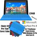 Microsoft 128GB SurfacePro 4 IntelCore i5 Tablet W/4GB RAM, Windows 10 Pro, Surface Pen & Type Cover