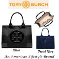 Tory Burch Ella Nylon Tote-Available In Black Or French Navy