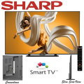"Sharp AQUOS 70"" 1080P 120Hz LED Smart HDTV-Available In Black Flat Panel"