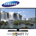 "Samsung 40"" 1080p 120Hz Smart LED HDTV-Available In Black Flat Panel"