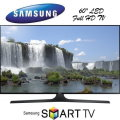 "Samsung 60"" LED 1080P Smart HDTV - Available In Black Flat Panel"